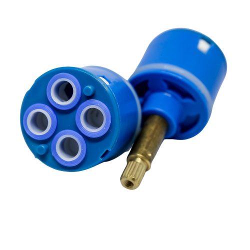 AquaMaxx 4 funkciós funkcióváltó csapbetét funkcióváltó csaptelephez, 77mm teljes magassággal, 37mm átmérőben
