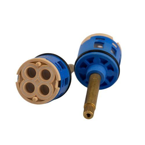 AquaMaxx 4 funkciós funkcióváltó csapbetét funkcióváltó csaptelephez, 77mm teljes magassággal, 35mm átmérőben