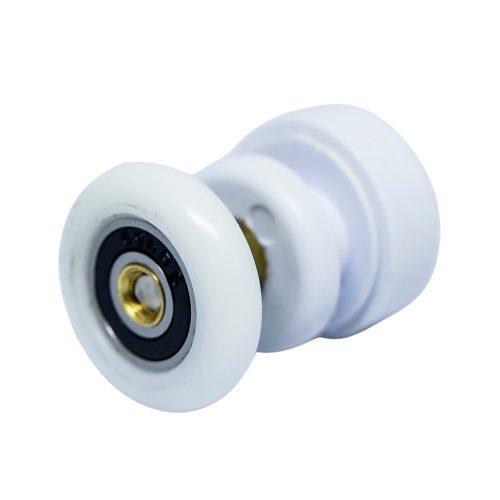 AquaMaxx szimpla excenteres beállítású zuhanykabin görgő, 25mm kerékátmérő, 11mm üvegfurat igény